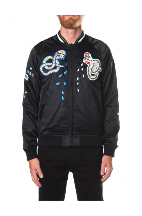 Men's Reversible Varsity Jacket