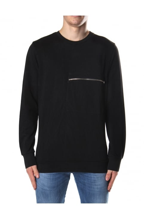 Men's S-Achille Crew Neck Sweat Top