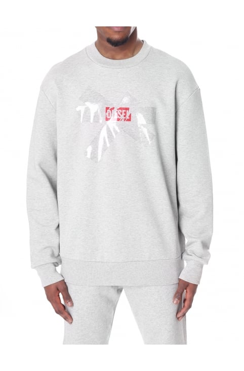 Men's S-BAY-SA Taped Out Logo Sweat Top