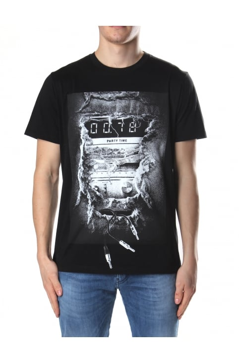 Men's Stereo Print T-Joe-OA