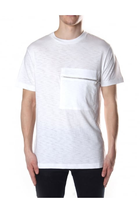 Men's T-Det Zip Pocket Crew Neck Tee