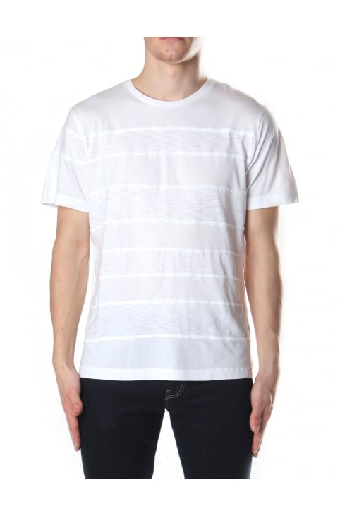 Men's T-Ewell Stripe Crew Neck Tee