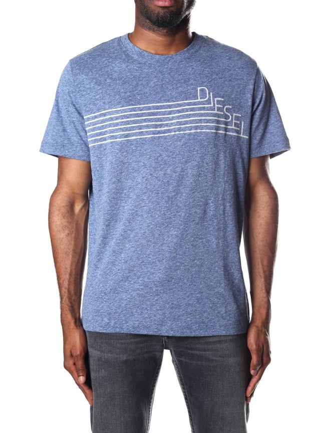 Diesel Men's T-Joe-QF Crew Neck Short Sleeve T-Shirt