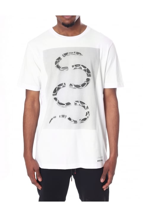 Men's T-Just-SP Chopped Snake Tee