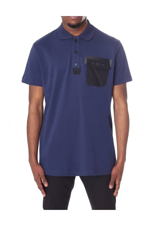 Men's T-TEMP Contrast Pocket Short Sleeve Polo T