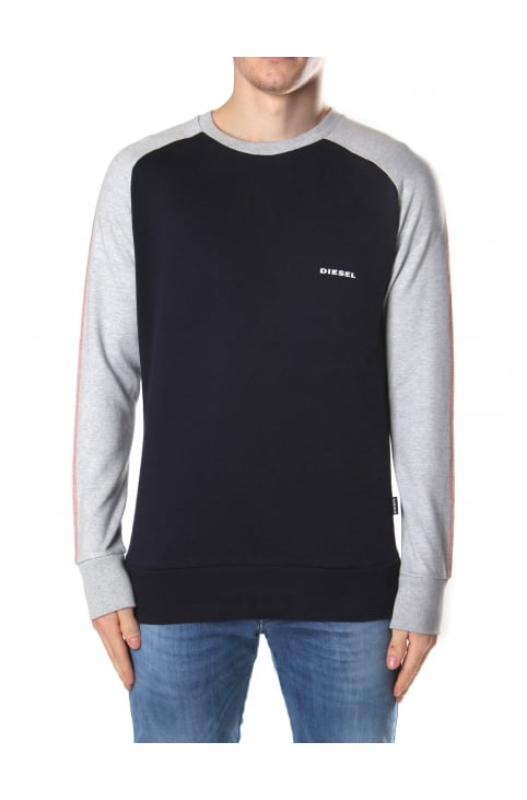 Men's Umlt-Casey Crew Neck Raglan Sweat Top