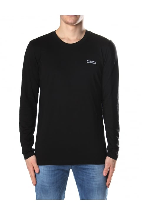 Men's Umlt-Justin Crew Neck Long Sleeve Tee