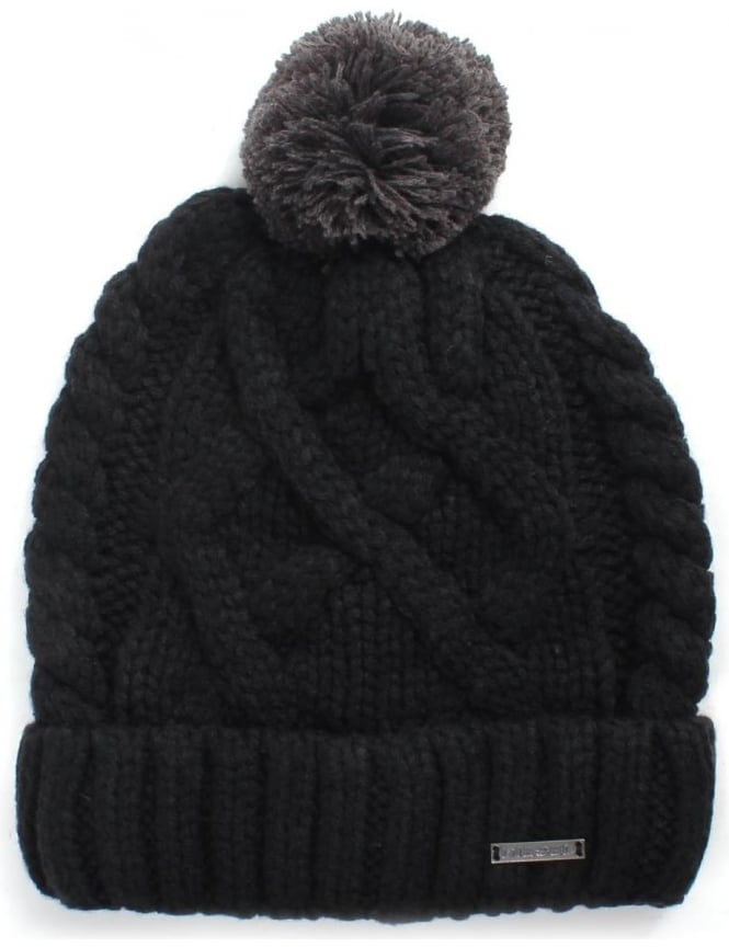 Diesel Mixed Cable Knit Men's Beanie