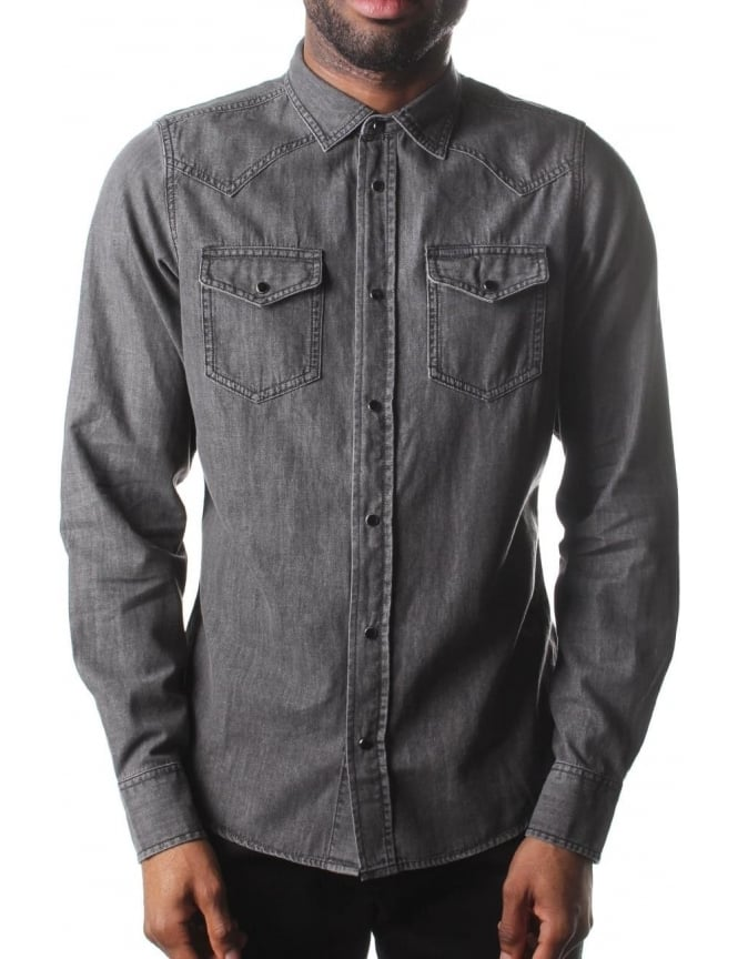 Diesel New-Sonora-E Men's Long Sleeved Shirt