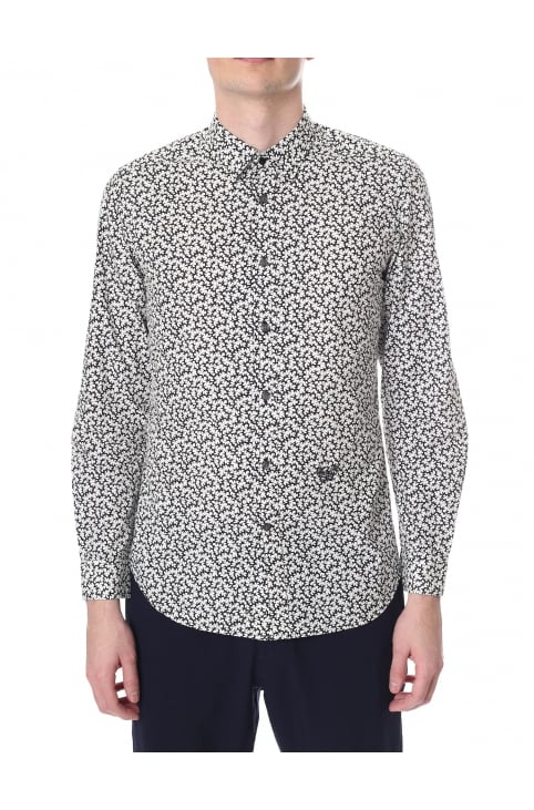 S-Duny Men's Long Sleeve Printed Shirt