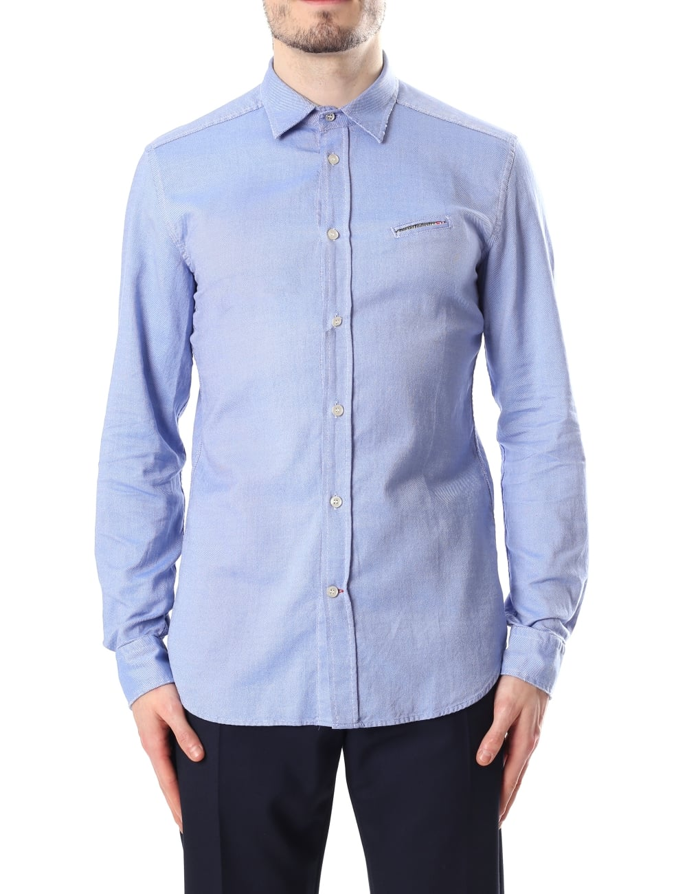 Diesel S Harras Men S Oxford Shirt