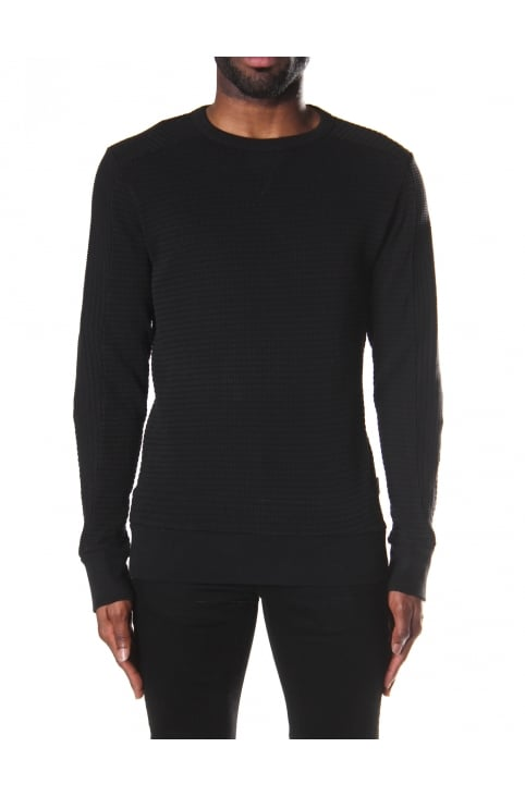 S-Jerry Men's Waffle Knit Sweater