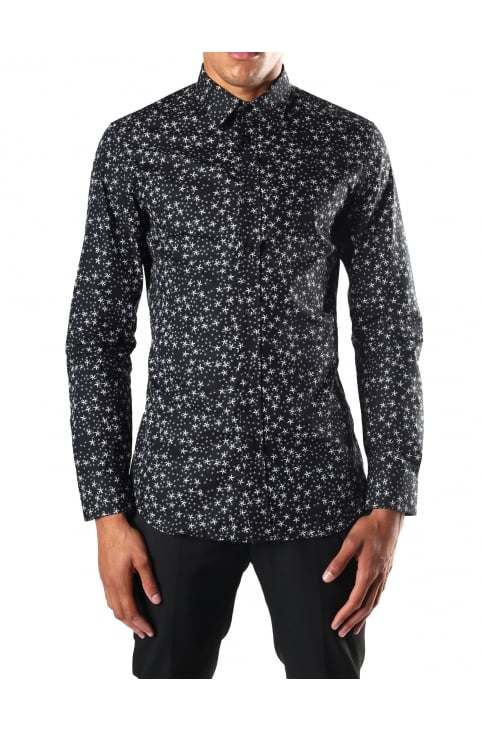 S-Stary Men's Long Sleeve Shirt