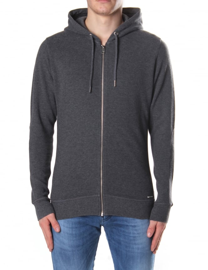 Diesel S-Tad Men's Zip Through Hooded Sweat