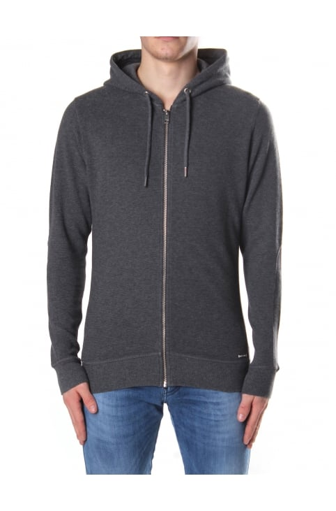 S-Tad Men's Zip Through Hooded Sweat