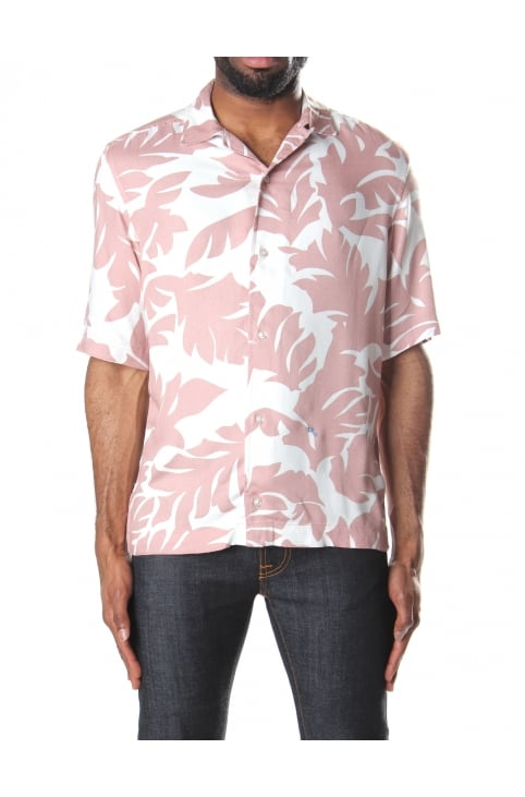 S-Westy Men's Printed Short Sleeve Shirt