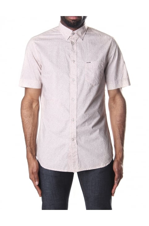 S-Wop Men's Short Sleeve Printed Shirt