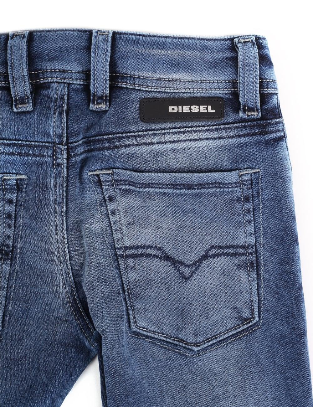 6ec40b379c010 Diesel Sleenker-J-EL Boys Jogg Jeans