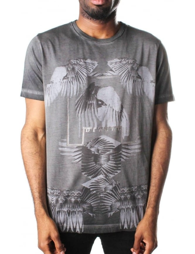Diesel T-Joe-Ho Men's Eagle print T-Shirt