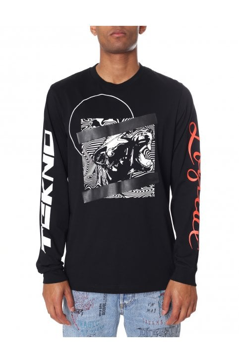 T-Just-Graphic Long Sleeve Tee