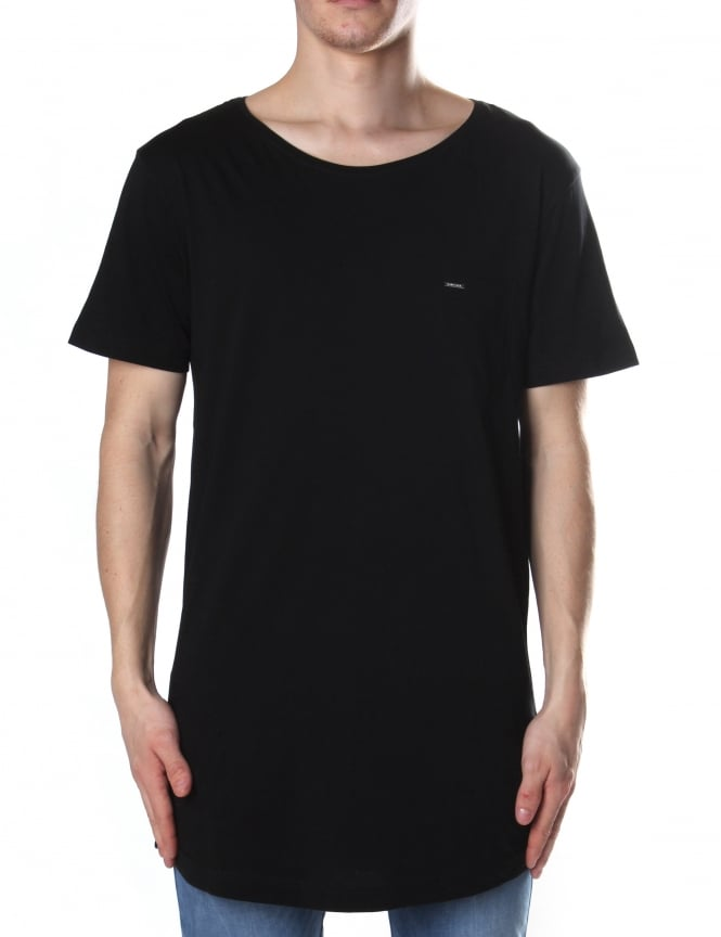 Diesel T-Longer-LLC Men's Long Line Tee