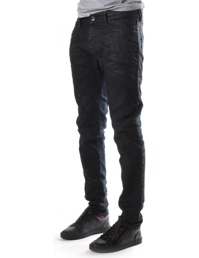 3d4b1fc8079 Diesel Tepphar 669G Men's Jeans Black