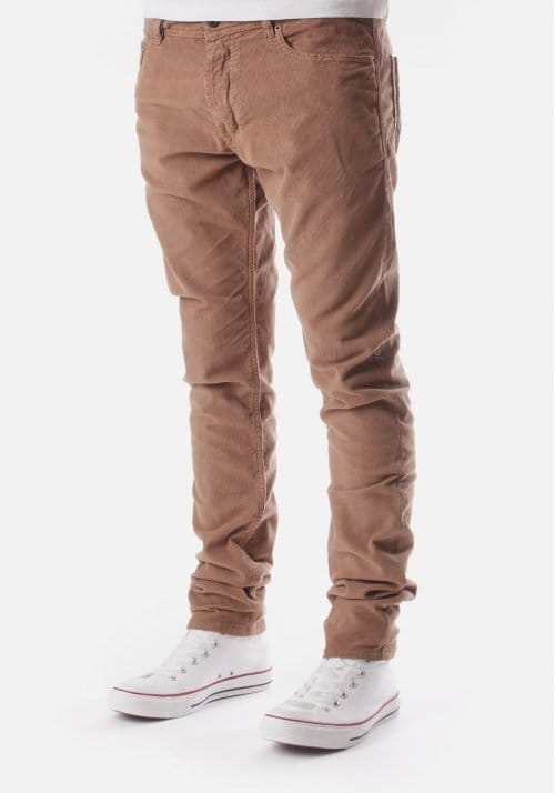 Tepphar A Men S Stretch Cord Trousers Brown