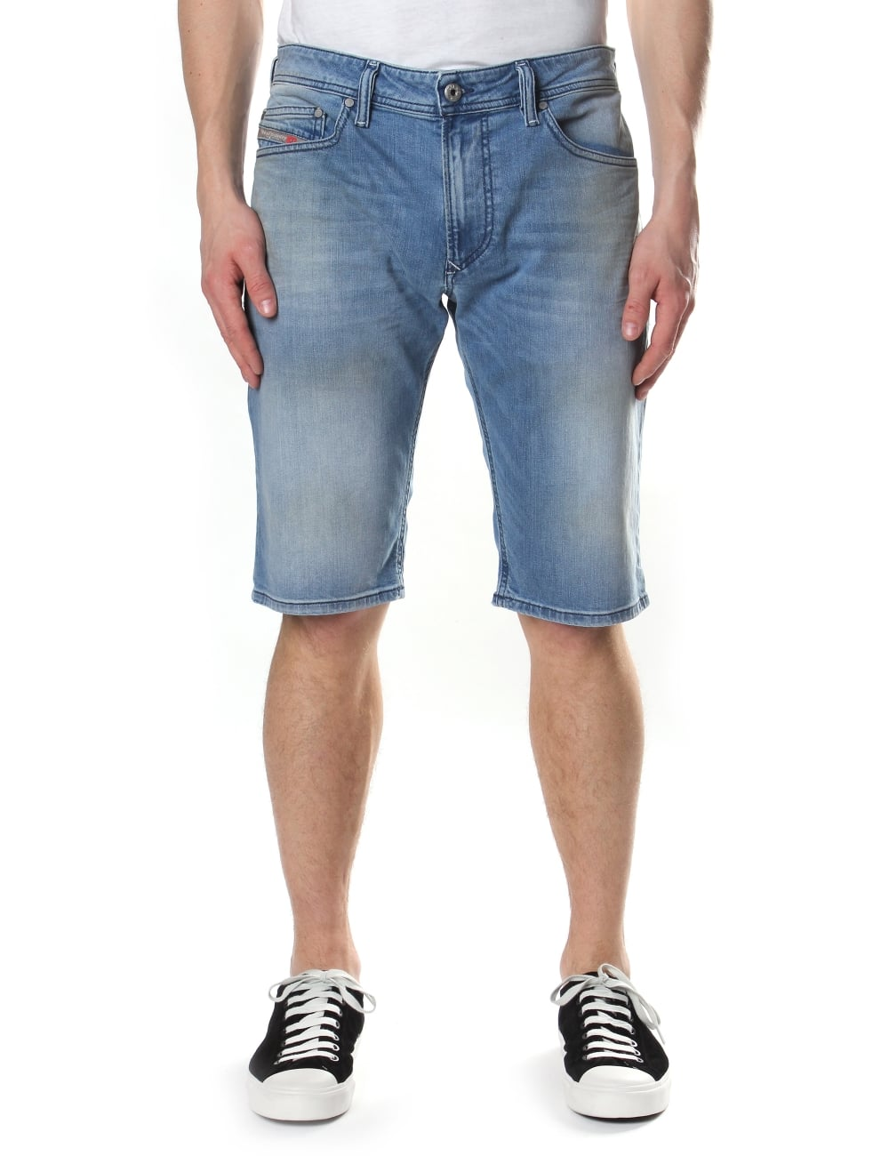acb2f5e3d1 Diesel Tha Short 84CU Denim Shorts
