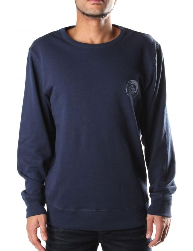 62a4f5af505e Diesel UMLT-Willy Men s Crew Neck Sweat Top