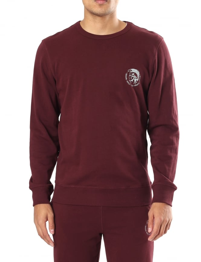 Diesel UMLT-Willy Men's Crew Neck Sweat Top