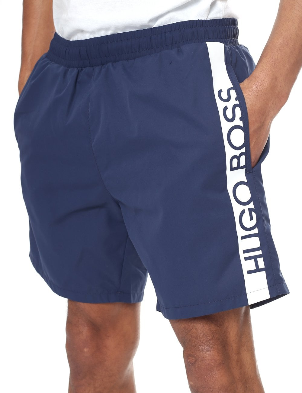 8dae6bf97 ... Boss Bodywear 'Dolphin' Logo Print Swim Shorts. Tap image to zoom.  'Dolphin' ...