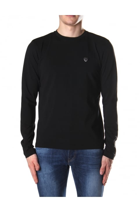 Crew Neck Men's Long Sleeve Tee