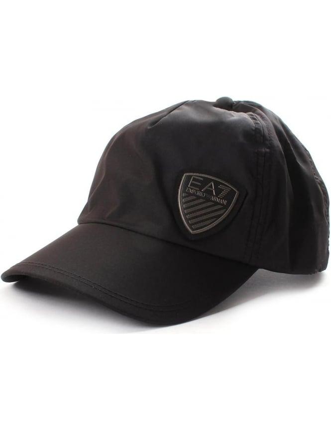 EA7 Men s Logo Badge Cap Black f17f5b718f8