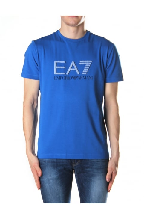 Men's Short Sleeve Crew Neck Tee Royal Blue