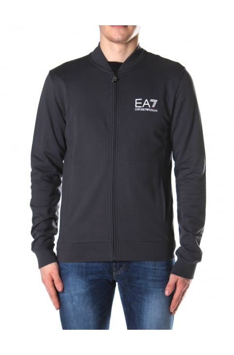 Men's Zip Through Sweat Top