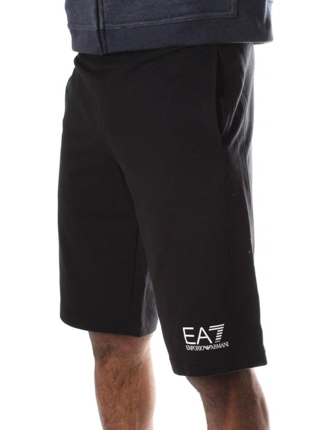 EA7 Tie Waist Men's Sweat Shorts