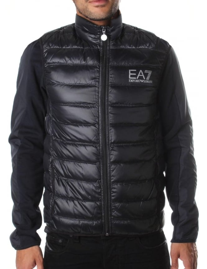 EA7 Zip Through Men's Down Gilet