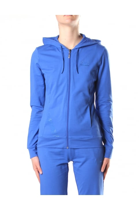 Zip Through Women's Hooded Sweat Top