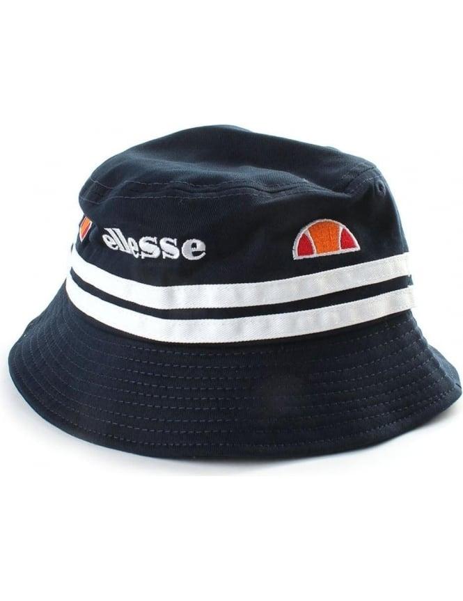 e4b88c470520 ... on sale 0a604 db4da Lorenzo Twin Stripe Men039s Bucket ... pretty nice  879dc 1f566 Ellesse Mens Veneto Navy Bucket Hat ...