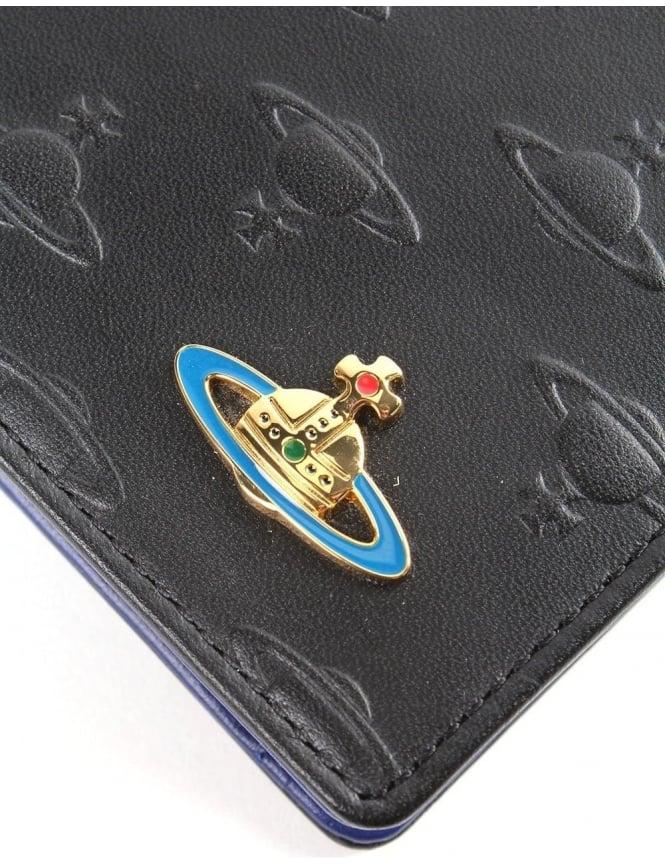 b6f9efb04d0 Vivienne Westwood Embossed Orb Men's Foldover Coin Holder Wallet