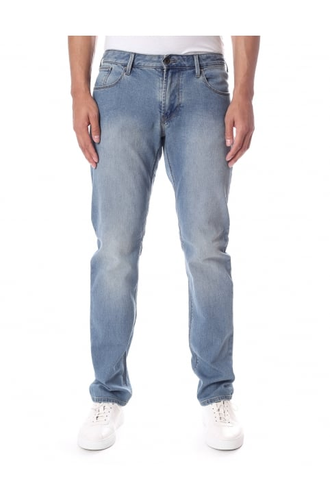 J06 Men's Slim Fit Stone Wash Jean