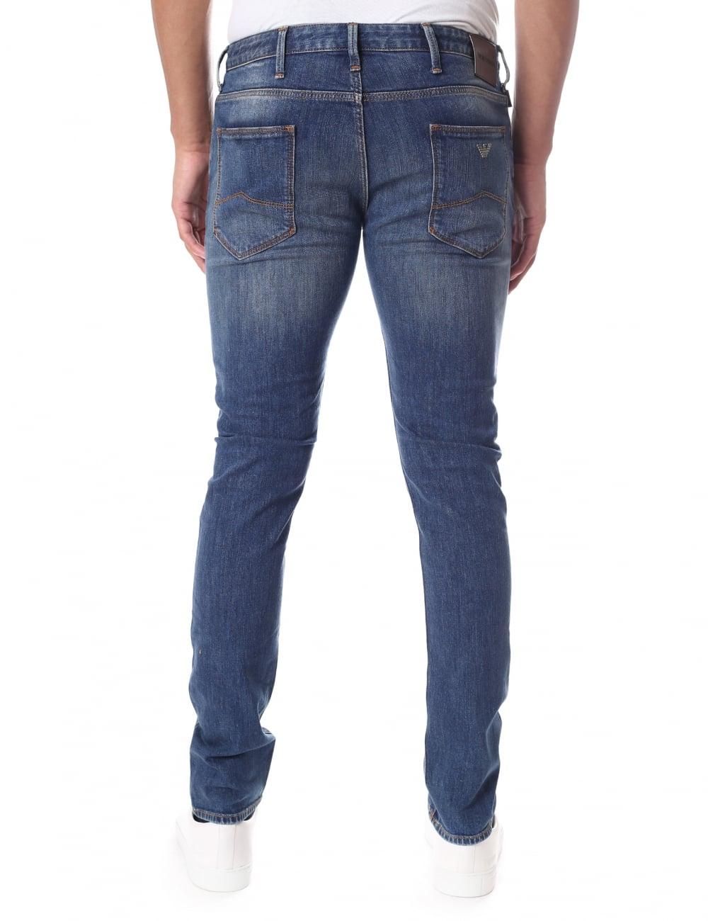 fe0e8e86fb Emporio Armani J06 Men's Slim Fit Stretch Jean