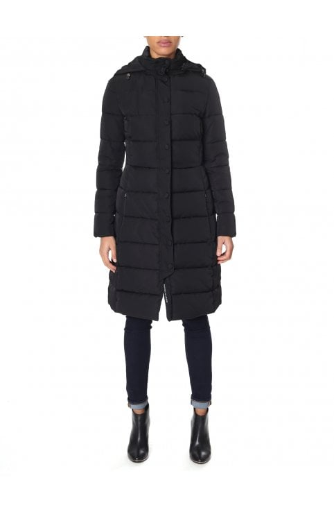 4f3b077ee1023 Long Padded Coat · EMPORIO ARMANI JEANS ...