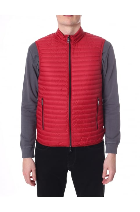 Men's Zip Through Quilted Gilet