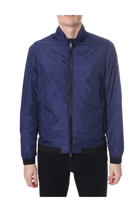 Men's Zip Through Textured Jacket