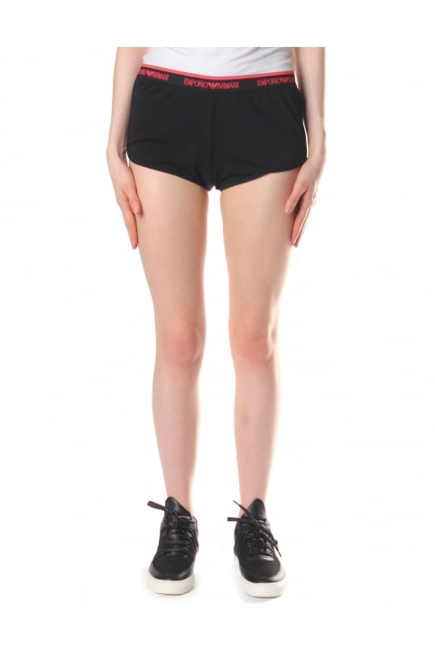Logo Waistband Women's Shorts