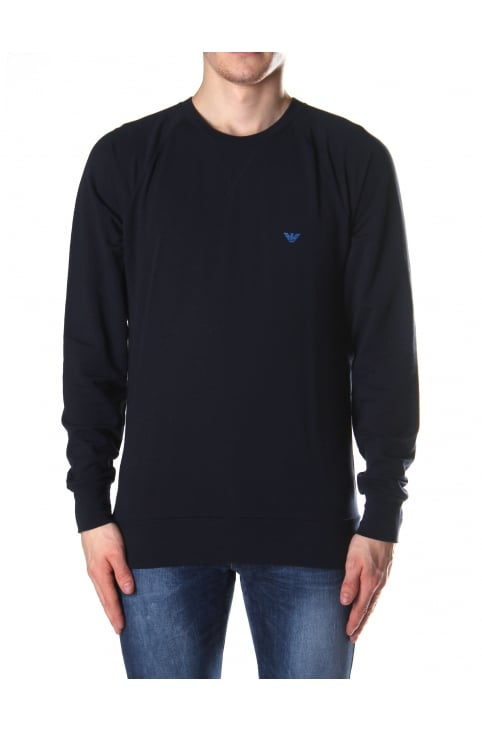 Men's Crew Neck Logo Sweat Top