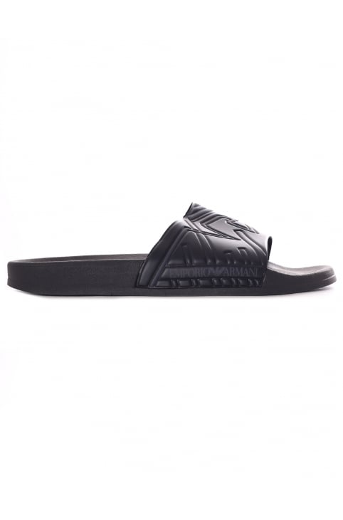 Men's Embossed Logo Sliders
