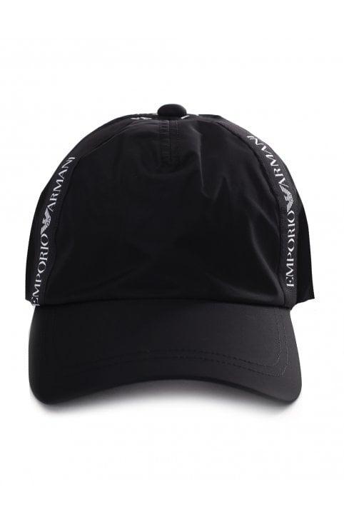 2c5c7ba163d33 Men s Logo Tape Baseball Cap · Emporio Armani ...