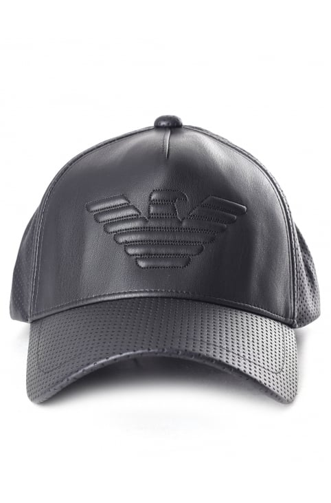 Men's Perforated Logo Baseball Cap